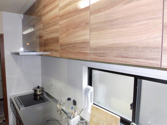キッチンリフォーム 清掃性や機能性が上がった自分のためのキッチン