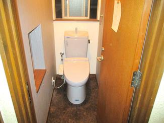 トイレリフォーム 旧式トイレを安価に最新節水タイプのトイレへ