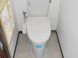 トイレリフォームローコストで機能を向上させたトイレ